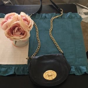 Handbags - Emma fox gold and leather crossbody